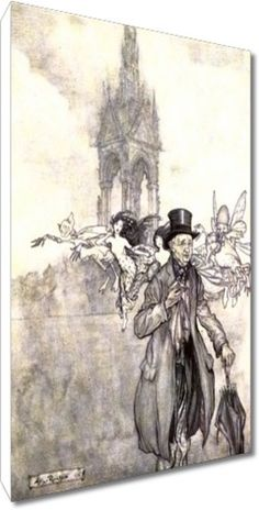 Arthur Rackham - Peter Pan in Kensington Gardens 1906