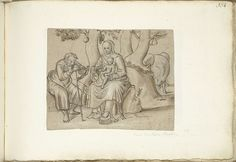 Anonymous | Rest on the Flight into Egypt, Anonymous, c. 1600 - c. 1687 |