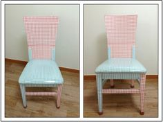 My cutie chair. Recycled