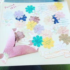 アルバムを作ると。。。♡ #アルバム作リ #scrapbooking #クリエイティブメモリーズ #creativememories #クロップラバーズ #サークルテンプレート #フラワーパンチ Diy And Crafts, Crafts For Kids, Paper Crafts, Up Book, Flower Backdrop, Creative Memories, Message Card, Diy Cards, Handicraft