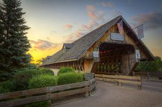 Wooden Bridge - Frankenmuth, Michigan