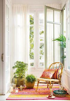 Best Summer Home Interior Decoration With Indoor Plants - Indecost Decor, Interior Decorating, Decor Design, Home Decor, Hippie Home Decor, Hippie Chic Decor, House Interior, Summer Living Room Decor, Summer Living Room