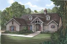 Exterior - Front Elevation Plan #115-176 - Houseplans.com