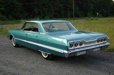 1963 Chevrolet Impala 4 door sedan