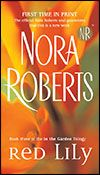 red lily - nora roberts