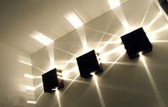 nog een voorbeeld van meerdere lichten naast elkaar die effect geven