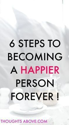 How to be a happier person. Happiness starts within remember you�re responsible for your own happiness. You are in control.You can either decide you want to be a happier person all the time or a grumpy person. How to be a happier person can be contributed