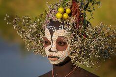 the Surma (Suri) tribe / Omo Valley-Southern Ethiopia