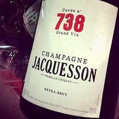 »Cuvée N° 738« Extra Brut Jacquesson Champagne, Frankreich  #wein #weinerleben