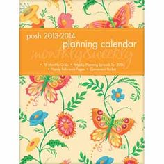 time management Mary Engelbreit's 2013-2014 Posh Planning Calendar great tool for this new school year