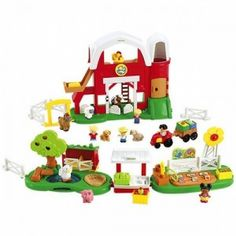 Set de joaca Ferma Little People de pe ursuletulmeu.ro