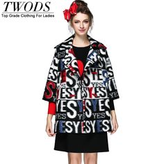 XL- 5XL European Style Oversize Letter Print Wool Coat For Big Size Double Breasted Winter Loose Long Overcoat Just look, that`s outstanding! http://www.artifashion.net/product/xl-5xl-european-style-oversize-letter-print-wool-coat-for-big-size-double-breasted-winter-loose-long-overcoat/ #shop #beauty #Woman's fashion #Products