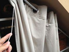 Dressing sous-pente avec rideaux et autres déco: Dressing: les dernières petites astuces