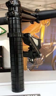 Interesting mounting solutions from Additive Bikes