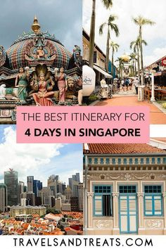 4 Days in Singapore Itinerary: The Ultimate Singapore Travel Guid… – Asia destinations - Travel Destinations Singapore Travel Tips, Singapore Itinerary, Singapore Trip, Singapore Guide, Asia Travel, Solo Travel, Travel Plane, Malaysia Travel, Traveling Europe