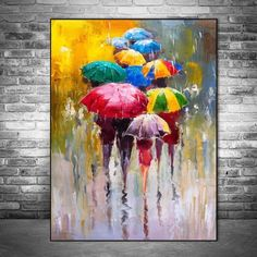 Abstract Portrait Oil Paintings Print On Canvas Art Prints Girl Holding An Umbrella Wall Art Pictures Home Wall Decoration Oil Painting On Canvas, Diy Painting, Canvas Art Prints, Painting Prints, Abstract Portrait, Abstract Wall Art, Images D'art, Buddha, Wall Art Pictures