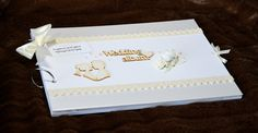 Wedding photo album - scrapbook handmade album: Amazon.co.uk: Kitchen & Home