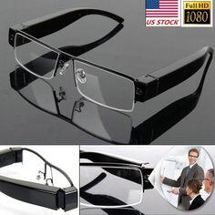 0a41aade11 32G HD 1080P spy Hidden Cam Glasses Camera Covert Eyewear DVR Camcorder  Recorder (eBay Link