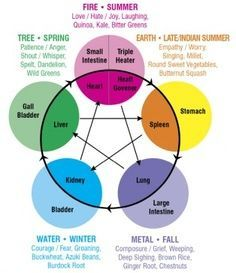 Five Elements and the Seasons