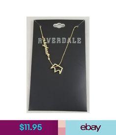 bd23b4c264f Necklaces   Pendants Riverdale Jughead Jones Crown Charm Pendant Necklace  Gold Tone Shot Bead Chain  ebay  Fashion