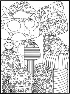 Free coloring pages. :)