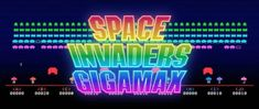 Space Invaders, Neon Signs
