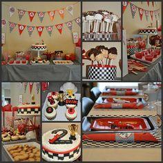 Cars theme birthday