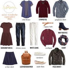 Wearing lately: September mix & match wardrobe   in residence   Bloglovin'