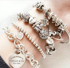 PANDORA Jewelry. ✿ ❀ ❁✿ For more great pins go to @KaseyBelleFox