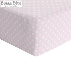 Bubba Blue Polka Dots Change Mat Cover - Pink Baby List, Changing Mat, Australia Living, Blue Polka Dots, Tissue Holders, Change, Manchester, Cover, Pink