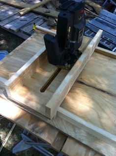 Finally finished my router jig - by AngieO @ LumberJocks.com ~ woodworking community