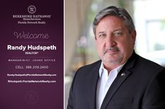 BERKSHIRE HATHAWAY HOMESERVICES FLORIDA NETWORK REALTY WELCOMES RANDY HUDSPETH