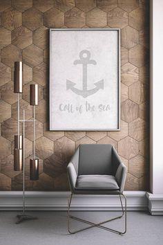 Beach Farmhouse Printable Rustic Sign Beach Decor Room