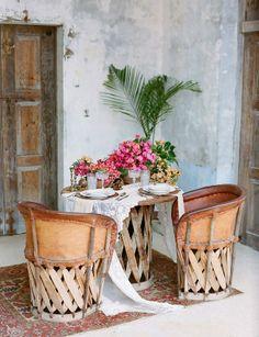 rustic interior design for summertime