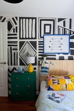 A terrific example of a kids' room they can grow with.