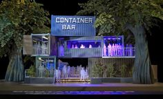Container Bar. A much anticipated addition to the Rainey Street District, Container Bar will be built from recycled shipping containers.