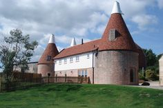 Oast and the lawn