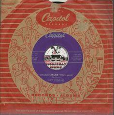 RAY STEVENS Chickie Chickie Wah Wah ROCKABILLY BOPPER 45 RPM RECORD VG++  $35.00