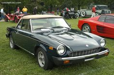 1979 FIAT 124 Spider, 1979 Fiat 124 Spider picture, exterior