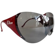 For Sale on - Snag yourself a piece from the Galliano for Dior vintage archives with these amazing sunglasses! Circa early these ski sport sunglasses feature Ski Sunglasses, Sunglasses Accessories, Women's Accessories, Sunnies, Trending Sunglasses, Vintage Sunglasses, Vintage Dior, Christian Dior Vintage, Vintage Hats