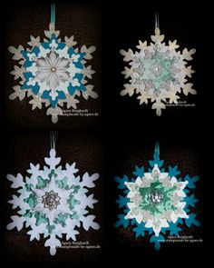 Let it snow ... - snowflakes - framelits - Festive Flurry