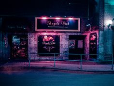 Gloomy After Dark Urban Pictures
