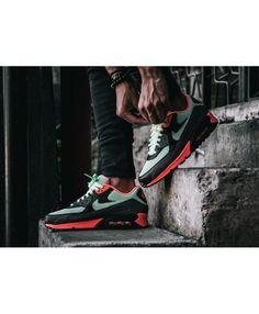 Nike Air Max 90 Essential Vapor Green Black Black Dark Grey Cheap