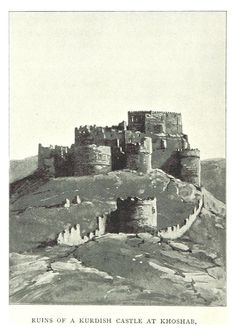 Kurdish Castle at Hoshab