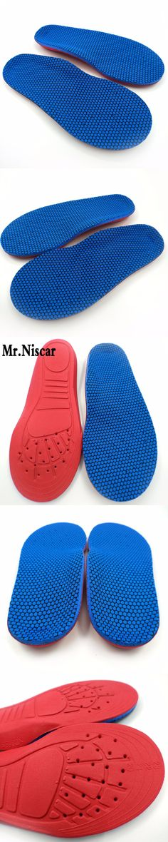 Mr.Niscar Children Flat feet Orthotics Insole Arch Support Breathable Sweat Absorbant Deodorization Shoe Pad Kids Sport Insoles