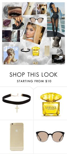"""""""call me 221"""" by nikoleta-nicky-malik ❤ liked on Polyvore featuring GET LOST, ASOS, Versace, Sonix and Balenciaga"""