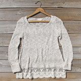 North Forest Knit Thermal in Sand: Alternate View #1