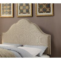 Laubach Upholstered Arch Headboard