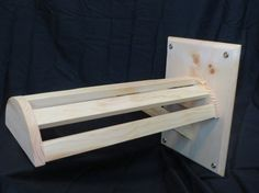 Wall mount Saddle Rack by SomethingtoTackabout on Etsy