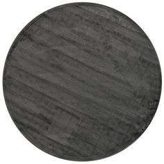 Enhance your home with this Madison area rug. The charcoal grey chenille-blend rug features a subtle geometric design and a unique sheen that will brighten any decor.